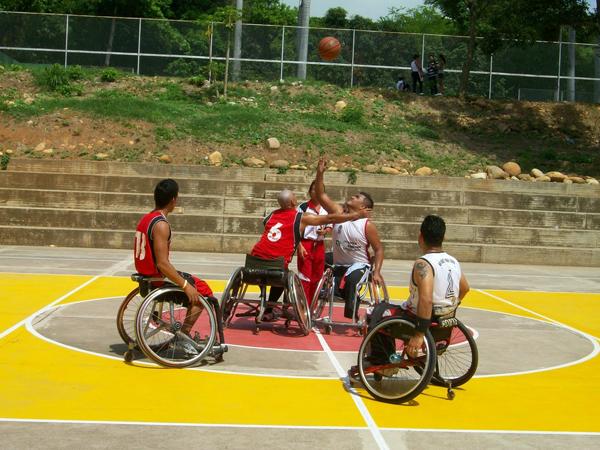 Deportistas de los iii juegos paranacionales recibieron la bandera contraluz co contraluz co - Baloncesto silla de ruedas ...