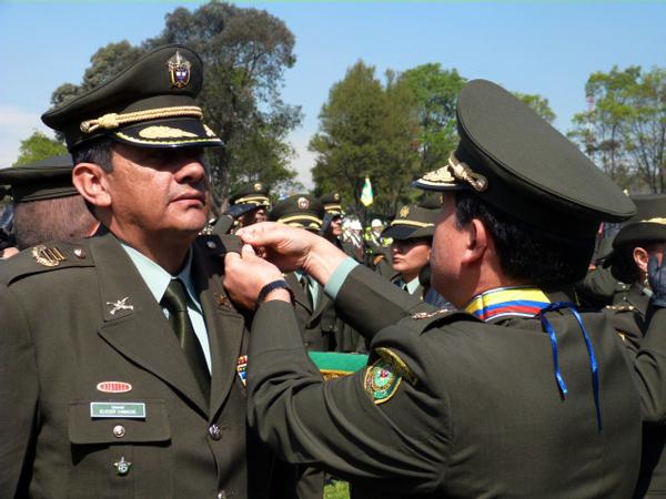 Comandante de la Policía Norte de Santander ascendió de rango