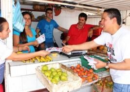 CAMPAÑA A LA ALCALDÍA. Comuna 10 respalda a Jorge Acevedo