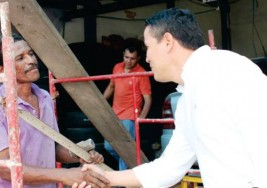 CAMPAÑA A LA ALCALDÍA. Jorge Acevedo, seguridad con rostro humano