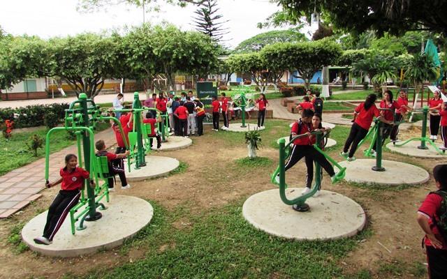 PARQUE BIOSALUDABLE. Fomento al deporte en la zona rural de Cúcuta