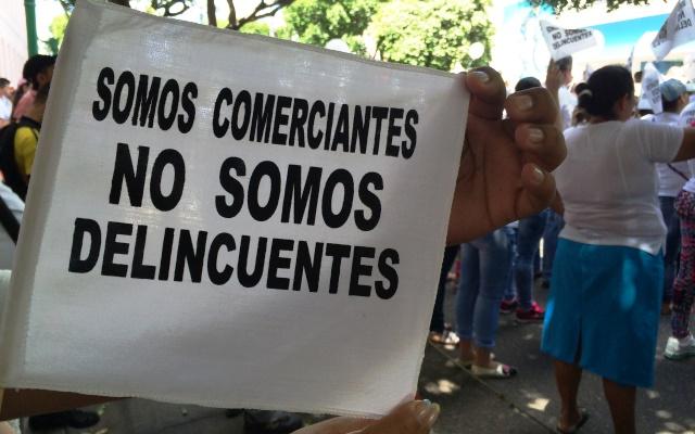 MARCHA EN CÚCUTA. 'Somos comerciantes, no somos delincuentes'