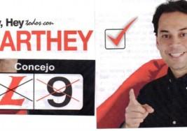 """CANDIDATO AL CONCEJO. """"Organicemos lo que hay"""": Jaime Ricardo Marthey Tello"""