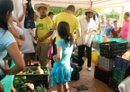 CANDIDATA A LA GOBERNACIÓN. Mercados campesinos, alternativa para la ciudad y el campo