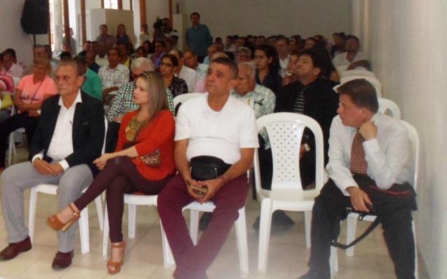 Periodistas homenajeados por el Círculo de Periodistas y  Comunicadores de Norte de Santander.