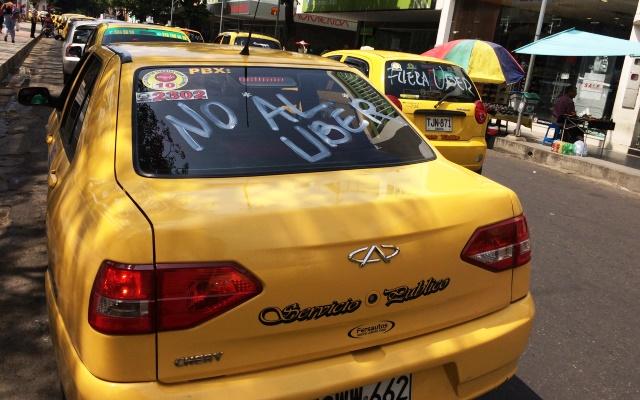 La llegada de Uber a Cúcuta ha generado inconvenientes con el gremio de taxistas.