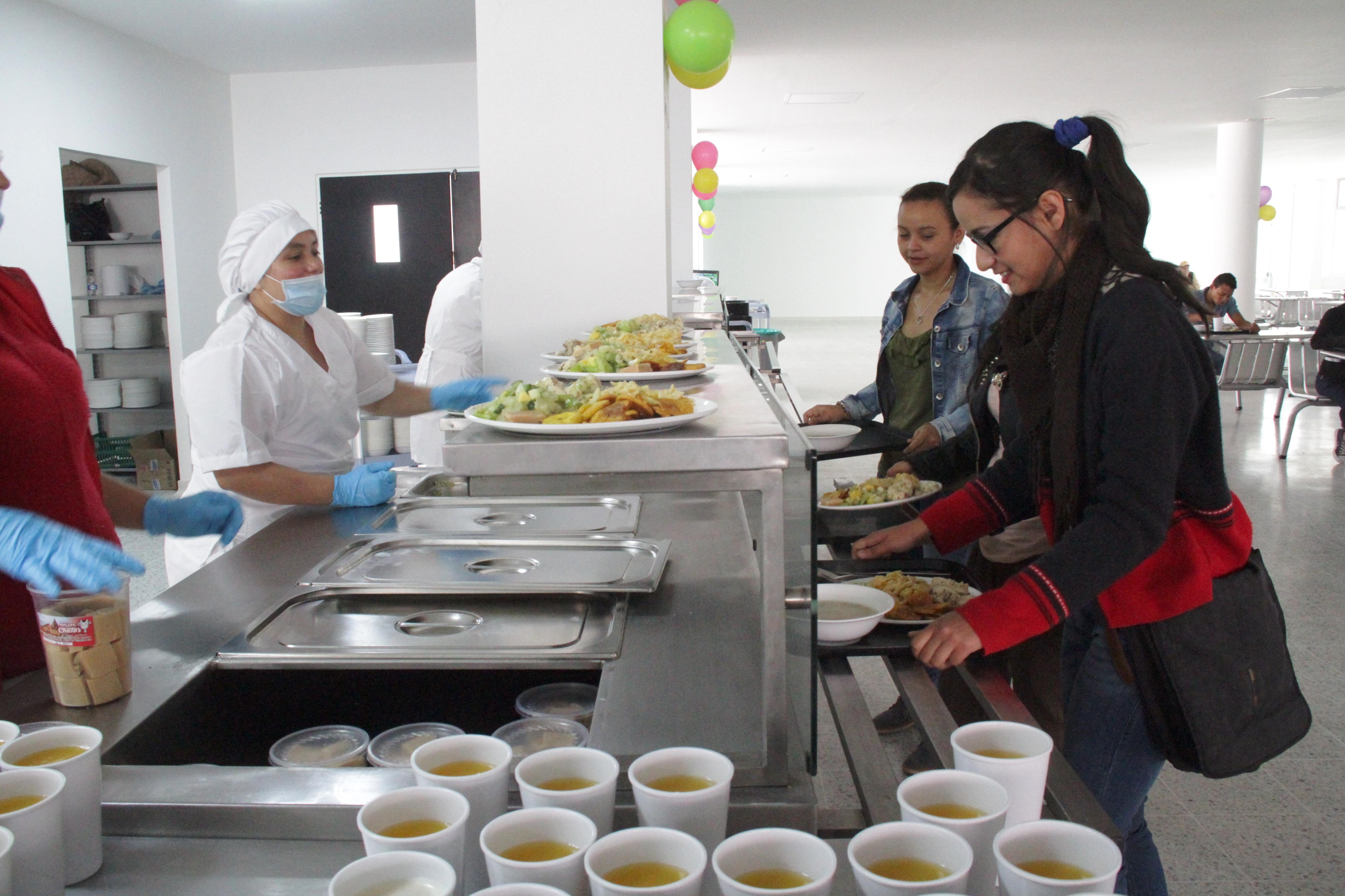 Universidad de pamplona inici servicio de comedor for Comedor estudiantil