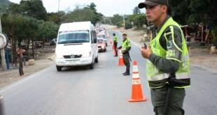 La comunidad está invitada a respetar las normas de Tránsito y a utilizar el servicio de transporte legalmente constituido.