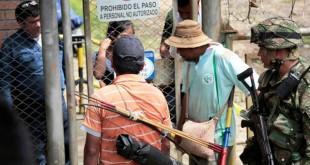 La toma afecta el suministro de gas a cerca de medio millón de familias de 11 municipios de Santander y Norte de Santander.