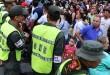El Ministerio de Relaciones Exteriores, Migración Colombia, Gobernación de Norte de Santander, Ejército y Policía monitorearon la situación para mantener la seguridad del Área Metropolitana.