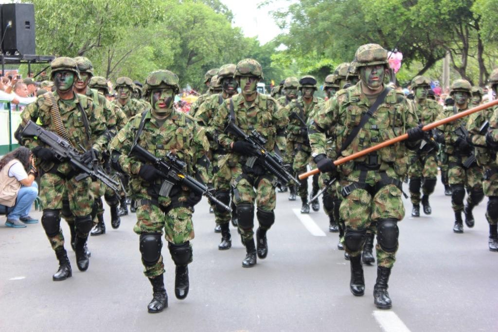 20 de julio desfile c vico militar contraluz co for Jardines 20 de julio bogota