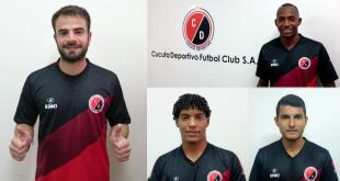Al término del periodo oficial de inscripciones agregó cuatro jugadores a la plantilla profesional.