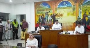 El presidente del Concejo, Víctor Suárez, presentó el balance de la gestión cumplida.
