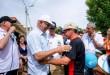 En el recorrido por los barrios favorecidos participaron el gerente de Aguas Kpital Cúcuta, Hugo Vergel, y el alcalde César Rojas.