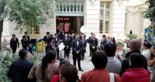 El grupo es dirigido por el formador en música Jesús Alberto Martínez González.