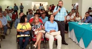 En el encuentro participaron 32 alcaldes y representantes de las entidades nacionales de la Unidad de Víctimas, el Sena y los ministerios de Paz y Posconflicto y del Interior.