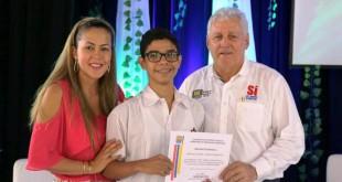 La secretaria de educación Indira Pérez Pérez  expresó satisfacción al ver que este año subió en Cúcuta el resultado de las Pruebas Saber.