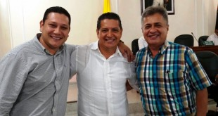 Rafael Cáceres, presidente; Wilmer Guerrero, primer  vicepresidente, y José Luis Duarte, segundo vicepresidencia.