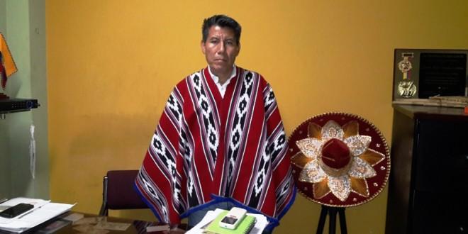 El 17 de noviembre del 2015, 'Hipo' legalizó en Cúcuta a la Asociación Nación Kichwa.
