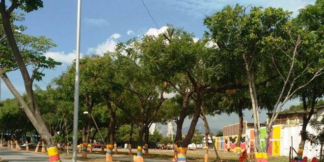 La meta de la administración municipal es transformar este espacio en un parque que conecte con el Canal Bogotá.