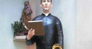 Sepultado en Cúcuta, pero los restos fueron trasferidos posteriormente a Agua de Dios, en la capilla de la Casa Madre del Instituto que fundó.