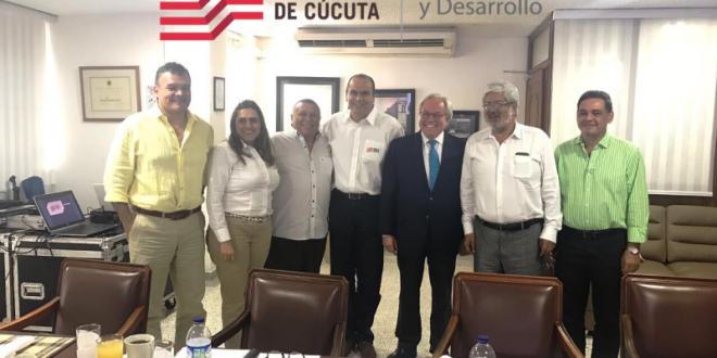 El objetivo de la cita  era examinar la situación de la frontera con Venezuela y fijar una posición que permita dar solución a los problemas de las zonas limítrofes.
