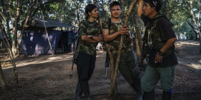 Tierra Grata, un asentamiento en La Paz, Colombia, a donde se fueron a vivir los exguerrilleros. Este año, 7000 de ellos dejarán sus armas en todo el país.
