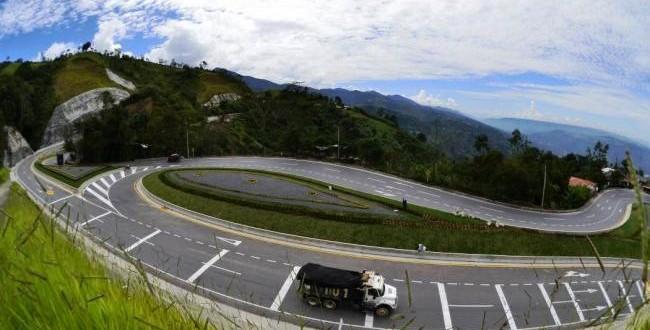 La autopista Cúcuta-Pamplona contempla la construcción de más de 42 kilómetros de doble calzada. / Foto: www.vanguardia.com