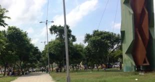 La mayor concentración de habitantes de calle se da en los parques Lineal, Antonia Santos, Mercedes, Santander y Colón, el Barrio Chino, alrededor de las recicladoras y el puente colgante.  / Foto: www.contraluzcucuta.co
