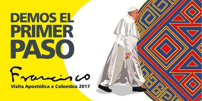 La imagen oficial está compuesta de los colores precolombinos de la bandera que simbolizan un mundo lleno de alegría y paz.