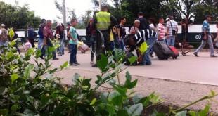 Las relaciones entre Colombia y Venezuela pasan por  momentos de tensión, debido a la crisis económica del vecino país.