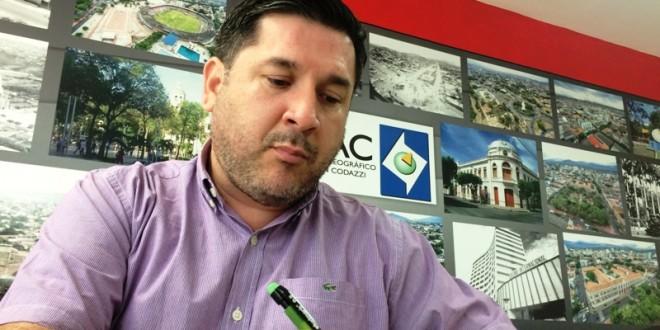 """""""Desde cuando inicié la gestión, el año pasado,  he recorrido los municipios del departamento para ofrecerles los servicios del Igac"""". / Foto: www.contraluzcucuta.co"""