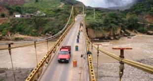 No podrán transitar vehículos para permitir el cambio en la losa del paso sobre el río Zulia, como parte de los trabajos de repotenciación.