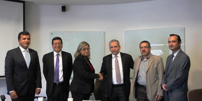 El encuentro contó con la participación de Gerardo Cañas Jiménez, director general del IPSE; el subdirector de Planificación Energética, Carlos Eduardo León; la rectora UFPS, Claudia Toloza, y el vicerrector asistente de investigación, John Suárez Gélvez.