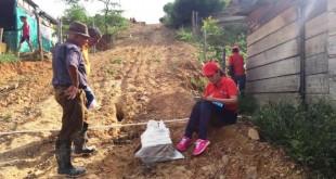 La actividad hace parte de los proyectos encaminados a la recuperación del entorno social en comunidades afectadas por factores económicos.