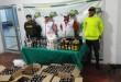 En el licor decomisado se contabilizan botellas de aguardiente, ron y whisky importado con estampilla falsa. /  Foto: PRENSA GOBERNACIÓN