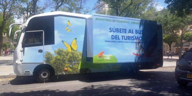39 bus del turismo 39 16 municipios conocer n oferta del for Ministerio del turismo
